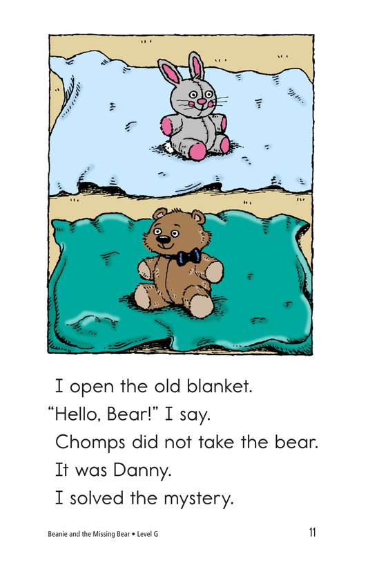 Book Preview For Beanie and the Missing Bear Page 11
