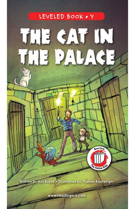 Book Preview For The Cat in the Palace Page 0