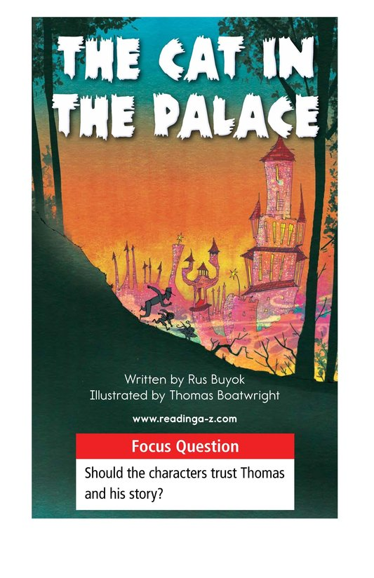 Book Preview For The Cat in the Palace Page 1