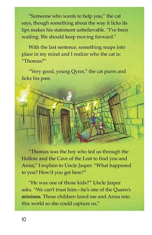 Book Preview For The Cat in the Palace Page 10