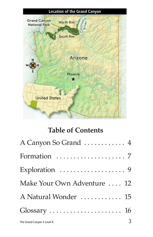 Book Preview For The Grand Canyon Page 3