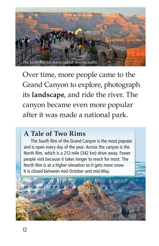 Book Preview For The Grand Canyon Page 12