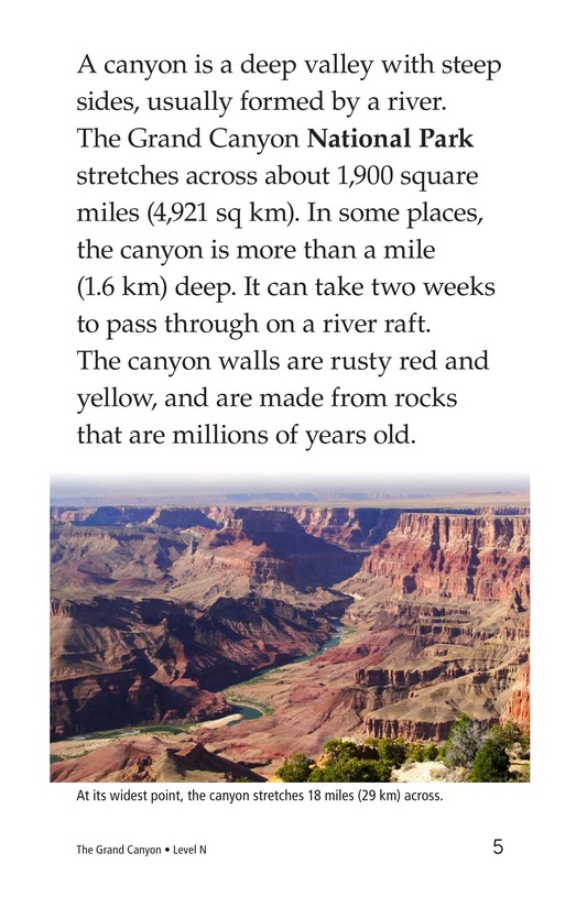 Book Preview For The Grand Canyon Page 5