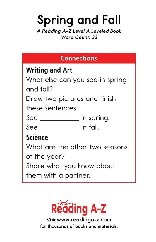 Book Preview For Spring and Fall Page 11