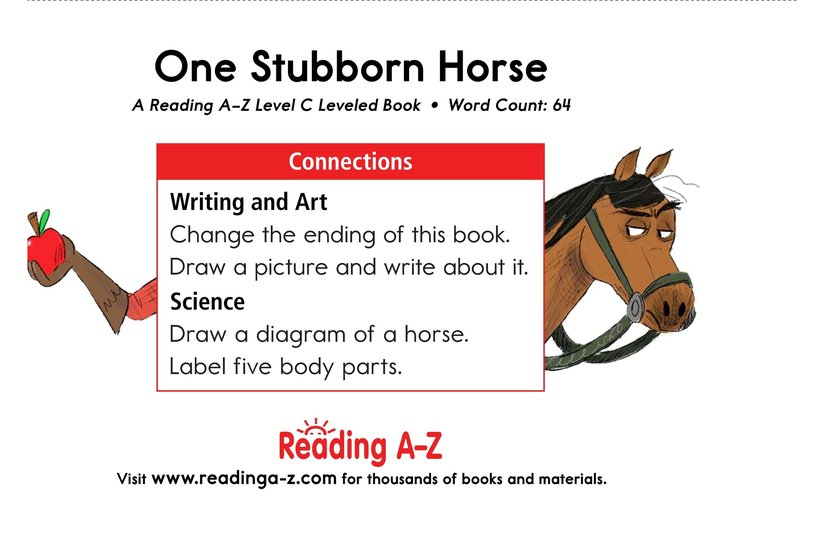 Book Preview For One Stubborn Horse Page 11