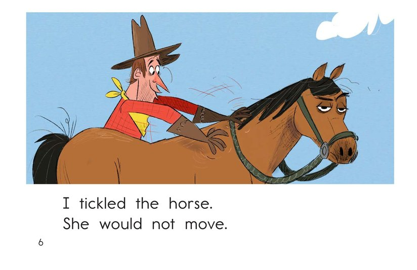Book Preview For One Stubborn Horse Page 6