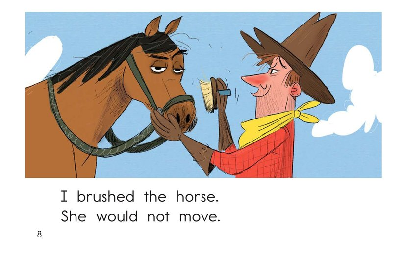 Book Preview For One Stubborn Horse Page 8