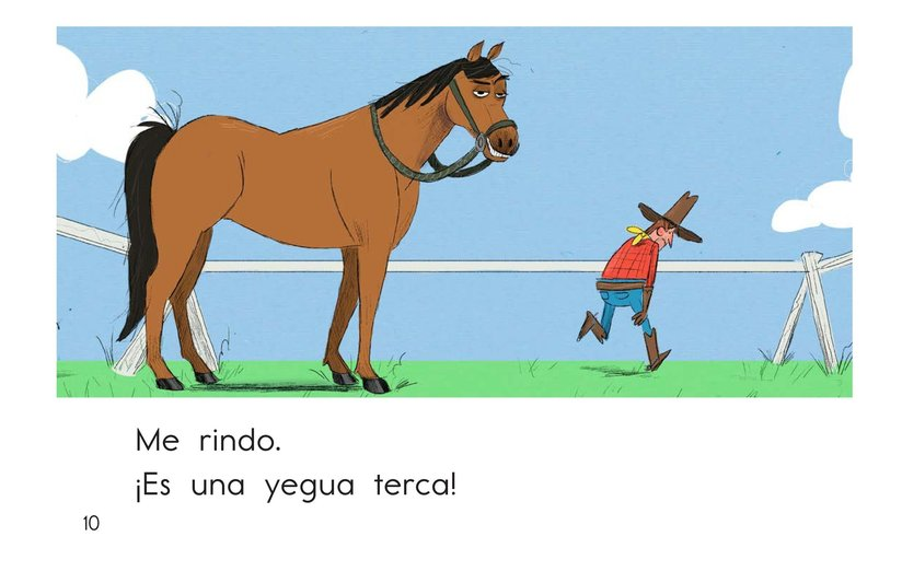 Book Preview For One Stubborn Horse Page 10