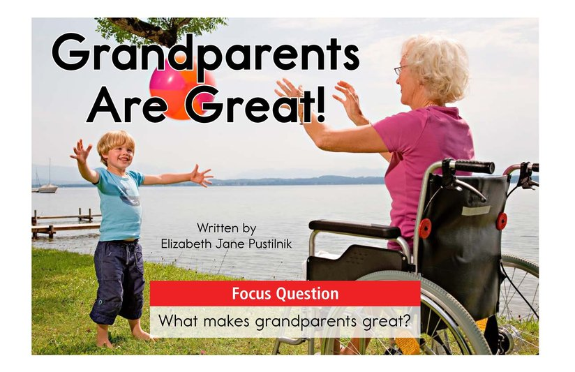 Book Preview For Grandparents are Great! Page 1
