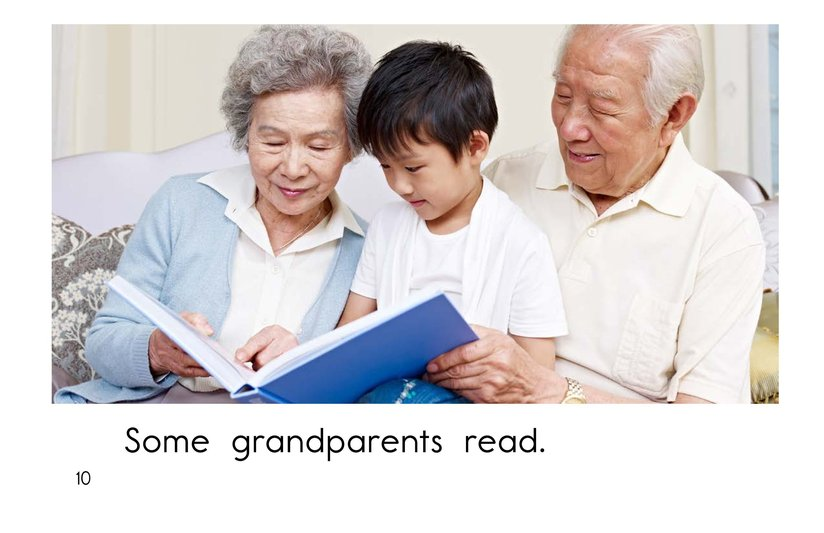 Book Preview For Grandparents are Great! Page 10