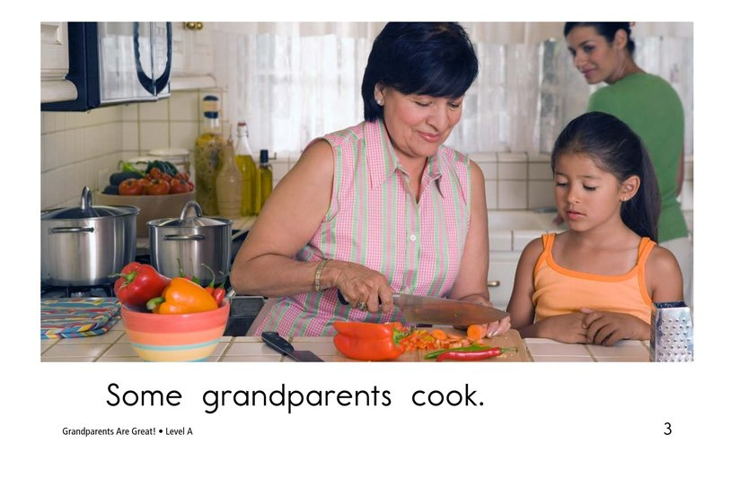 Book Preview For Grandparents are Great! Page 3
