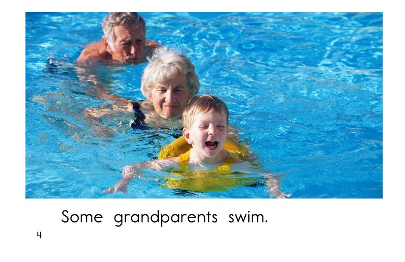 Book Preview For Grandparents are Great! Page 4