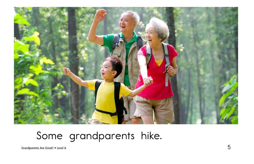 Book Preview For Grandparents are Great! Page 5
