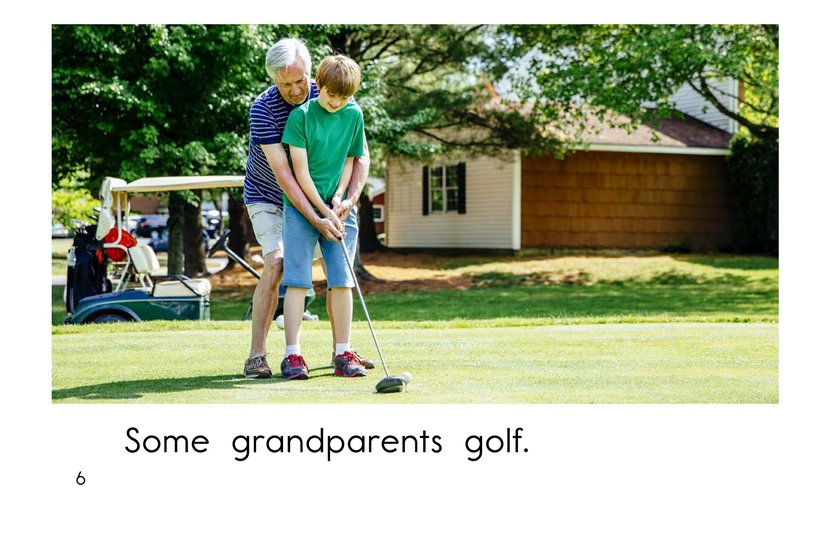 Book Preview For Grandparents are Great! Page 6