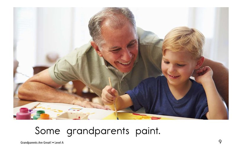 Book Preview For Grandparents are Great! Page 9