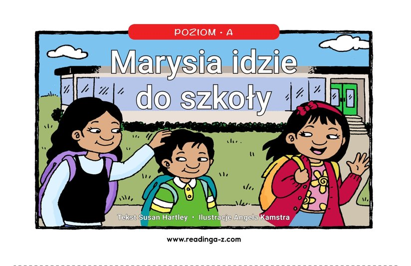 Book Preview For Maria Goes to School Page 1