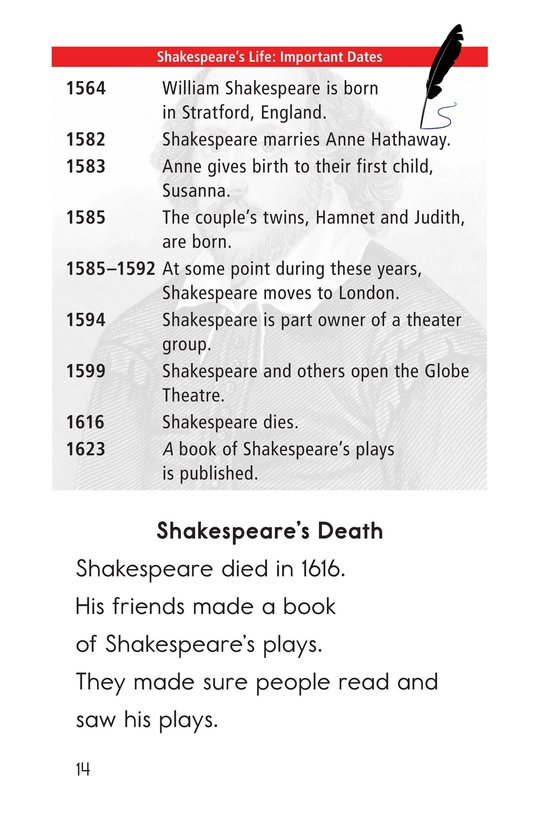 Book Preview For William Shakespeare Page 14