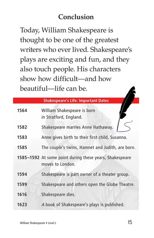 Book Preview For William Shakespeare Page 15