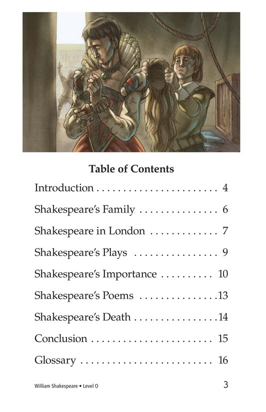 Book Preview For William Shakespeare Page 3