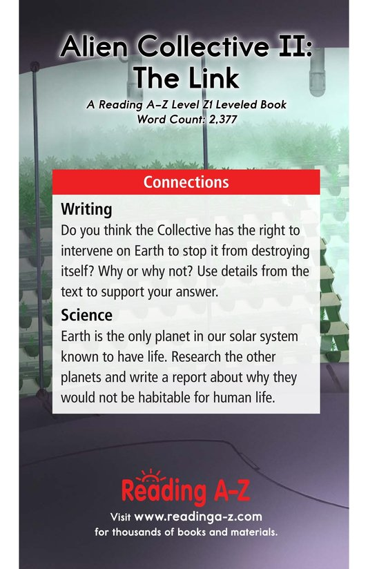 Book Preview For Alien Collective II: The Link Page 17