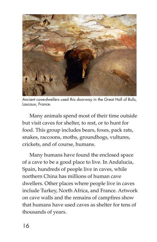 Book Preview For Mysterious Caves Page 16