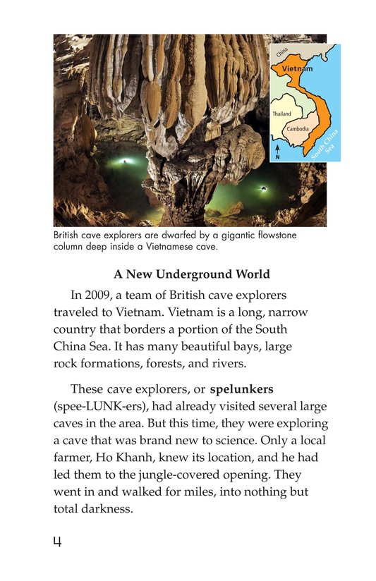 Book Preview For Mysterious Caves Page 4