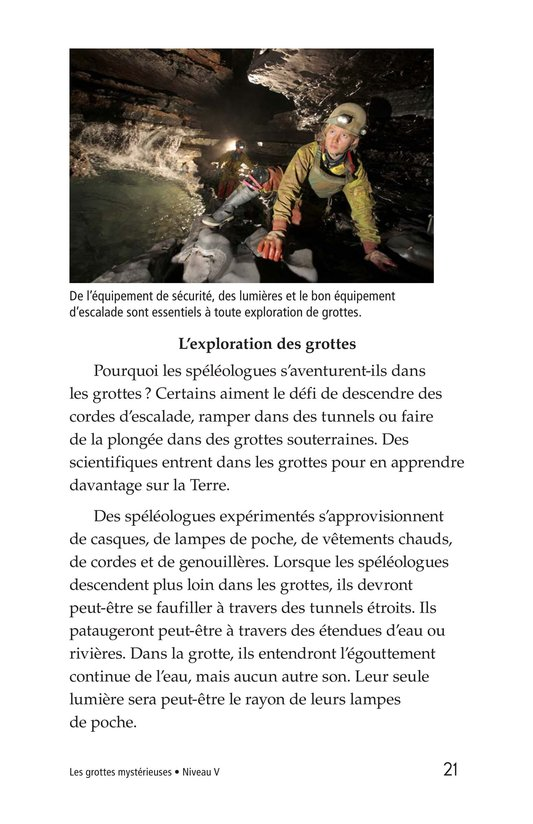 Book Preview For Mysterious Caves Page 21