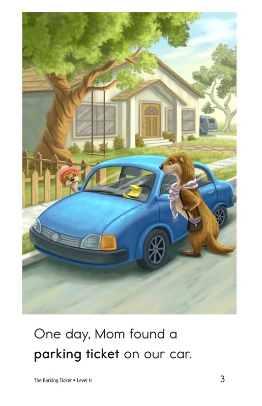 Book Preview For The Parking Ticket Page 3