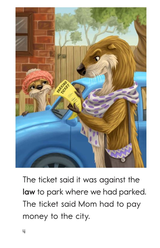 Book Preview For The Parking Ticket Page 4