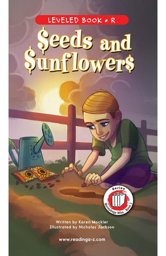 Book Preview For Book 3: Seeds and Sunflowers Page 0