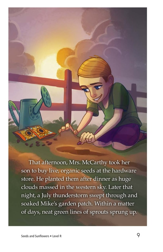 Book Preview For Book 3: Seeds and Sunflowers Page 9
