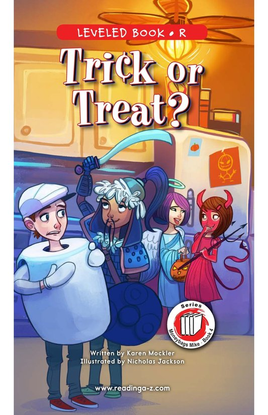 Book Preview For Book 4: Trick or Treat? Page 0