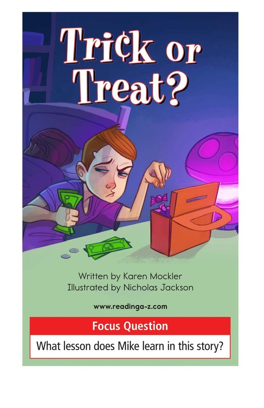Book Preview For Book 4: Trick or Treat? Page 1