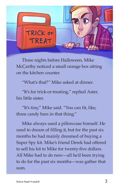 Book Preview For Book 4: Trick or Treat? Page 3