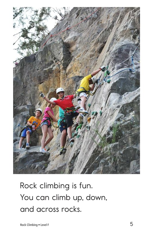 Book Preview For Rock Climbing Page 5