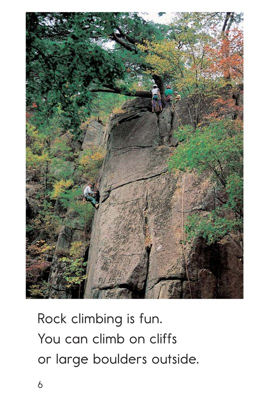 Book Preview For Rock Climbing Page 6