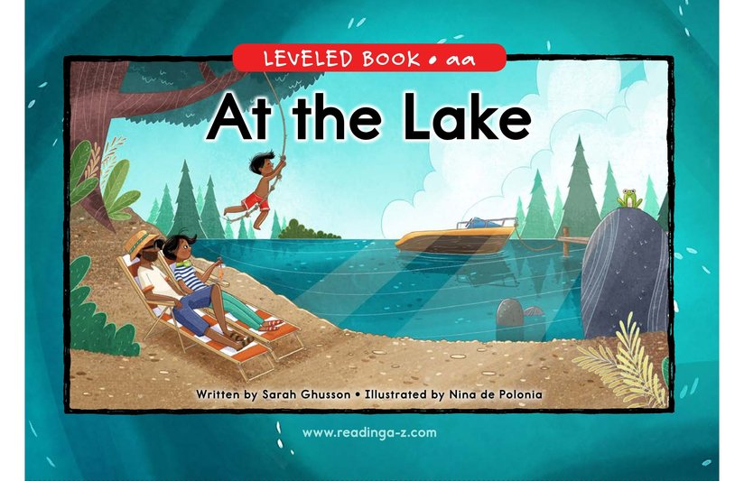 Book Preview For At the Lake Page 0