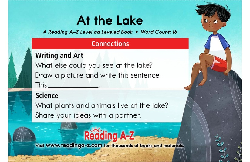 Book Preview For At the Lake Page 11