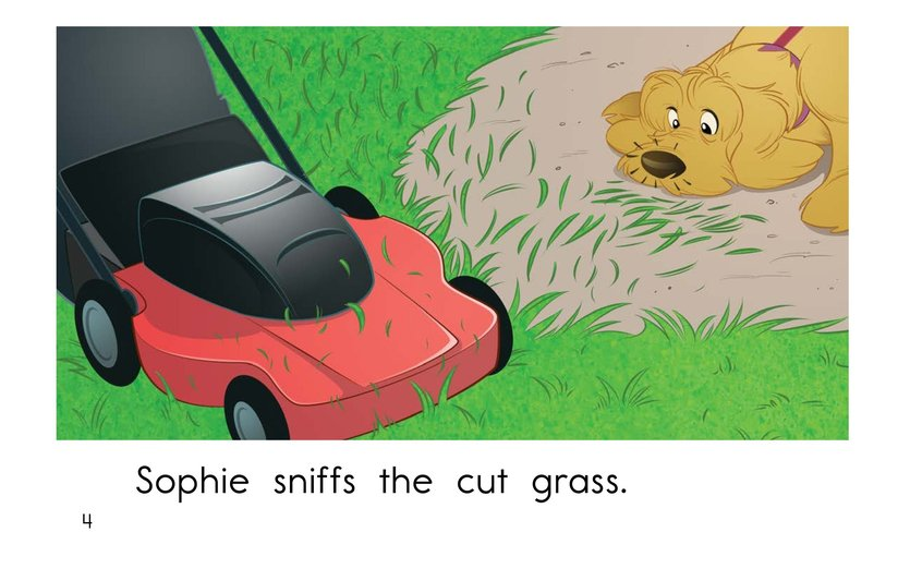 Book Preview For Sophie Goes for a Walk Page 4