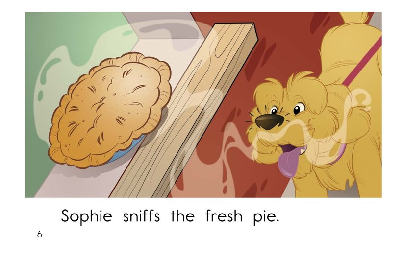 Book Preview For Sophie Goes for a Walk Page 6