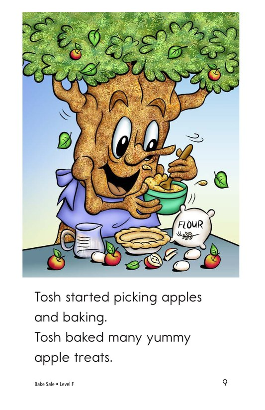 Book Preview For Bake Sale Page 9