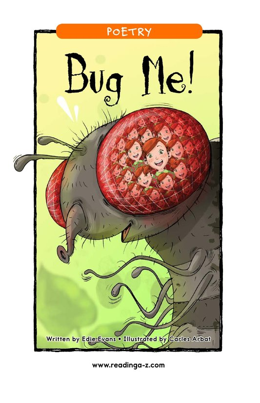 Book Preview For Bug Me! Page 1