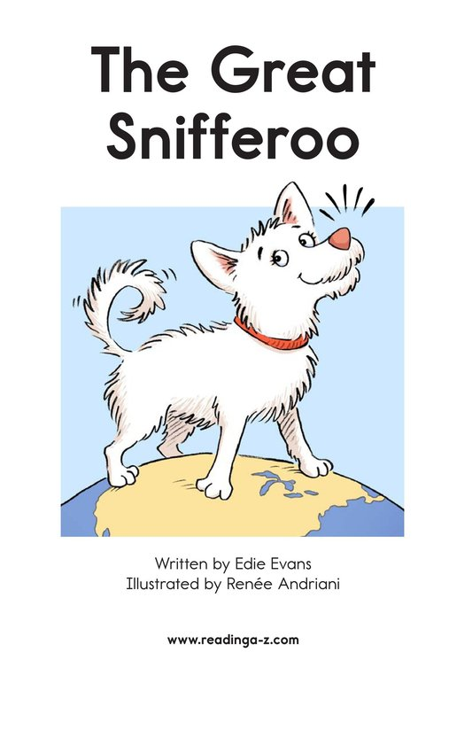 Book Preview For The Great Snifferoo Page 1