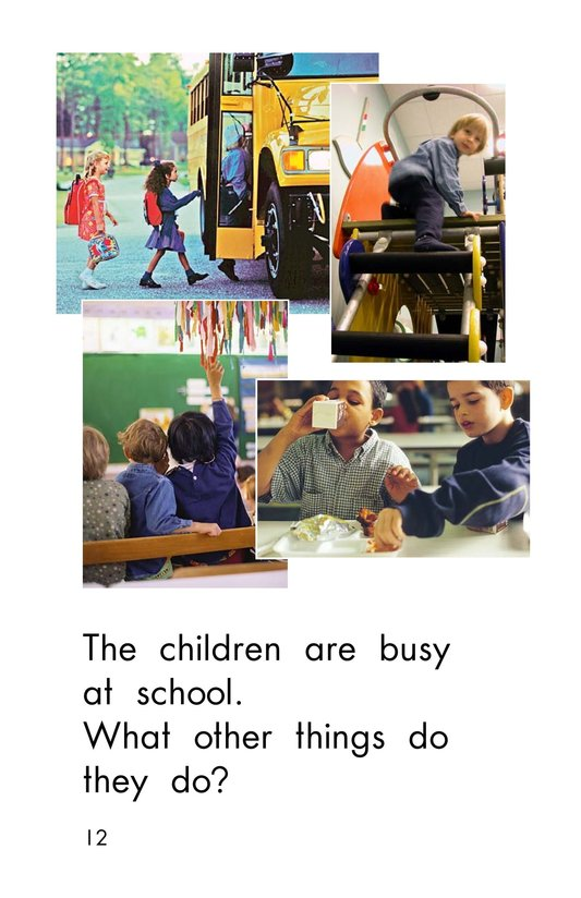 Book Preview For Busy At School Page 12
