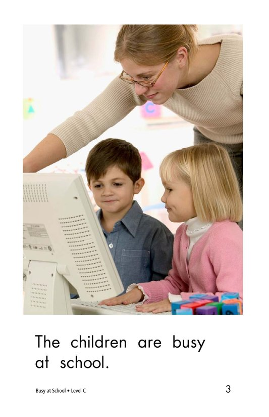 Book Preview For Busy At School Page 3