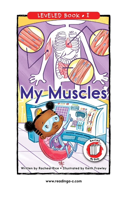 Book Preview For My Muscles Page 0
