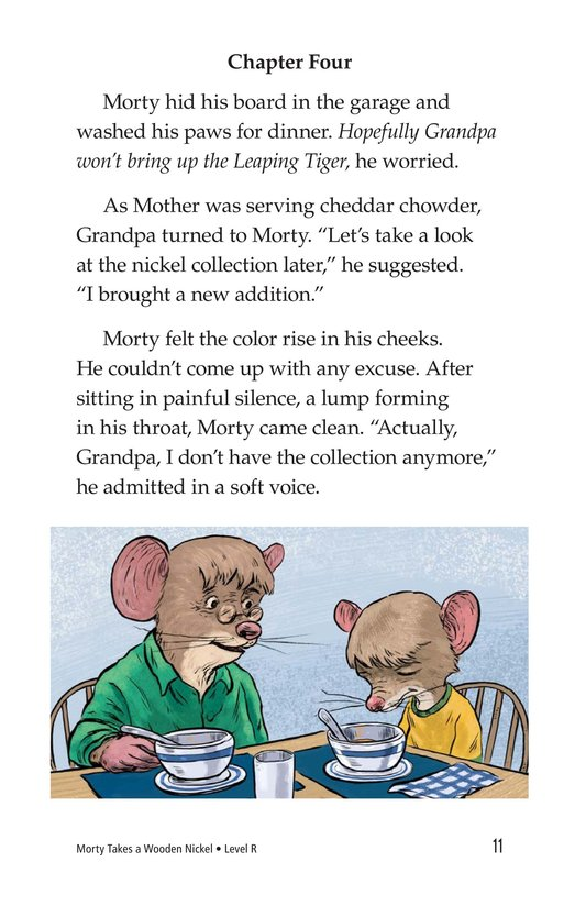 Book Preview For Morty Takes a Wooden Nickel Page 11