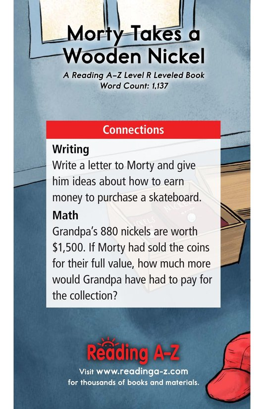 Book Preview For Morty Takes a Wooden Nickel Page 17