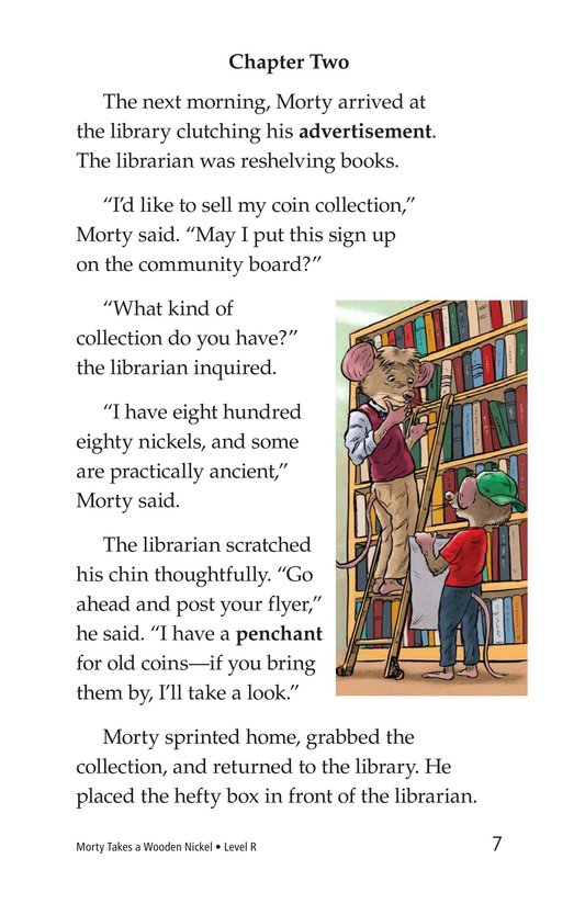 Book Preview For Morty Takes a Wooden Nickel Page 7