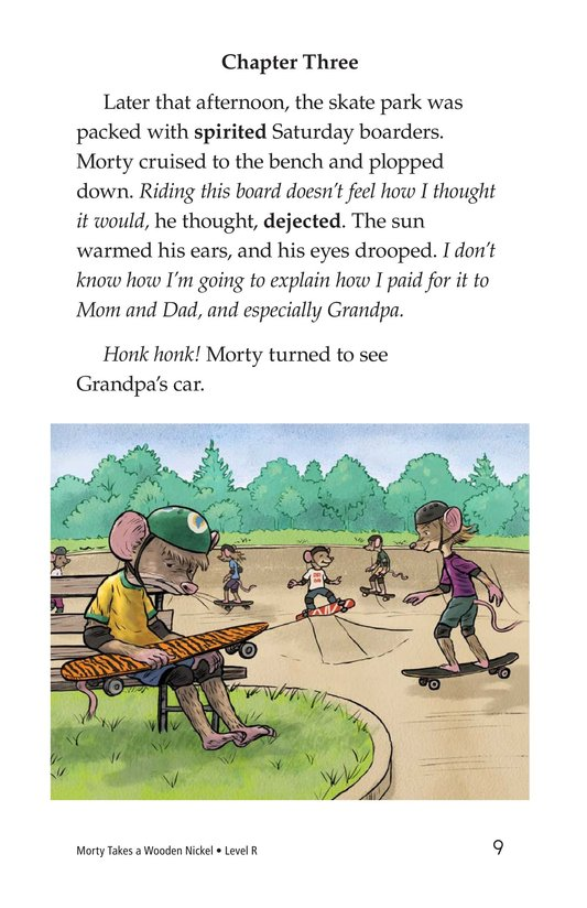 Book Preview For Morty Takes a Wooden Nickel Page 9